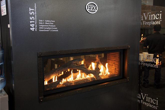 Anderson Fireplace and Spas: 4415 HO See Thru Gas Fireplace